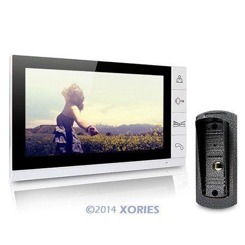 "9"" Video Door Phone Intercom Doorbell Home Security Camera Monitor Night Vision(China (Mainland))"