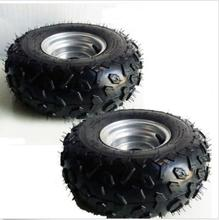 "2pcs 145/70 - 6"" Front Rear Wheel Rim Tyre Tire For 50cc 110cc Quad ATV Buggy TA(China (Mainland))"