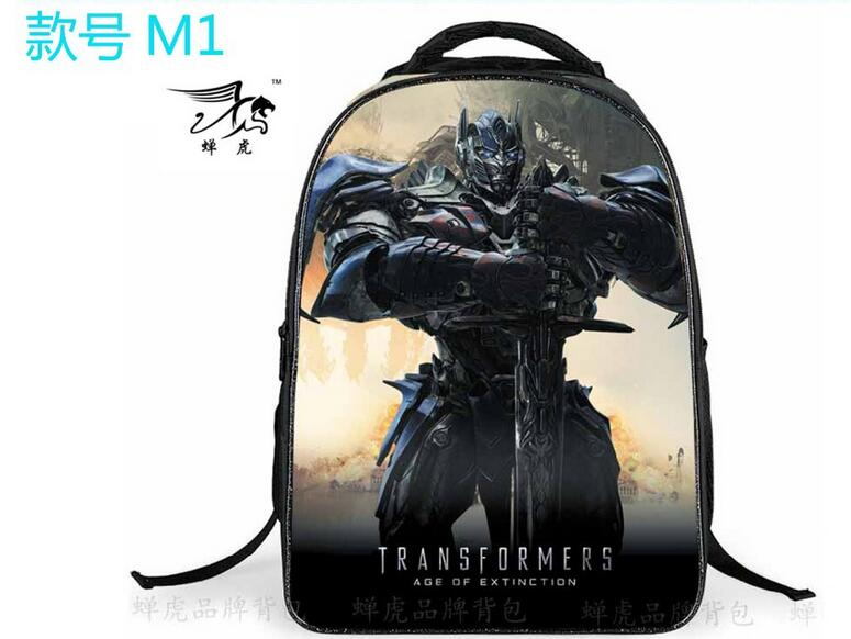 New Kids Cartoon Transformers Backpack,Boys Transformers School Backpacks Children School Bags DWX(China (Mainland))