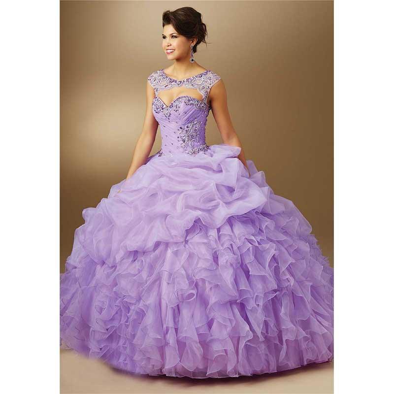 Popular Lavender Purple Sweet 16 Dresses-Buy Cheap Lavender Purple ...