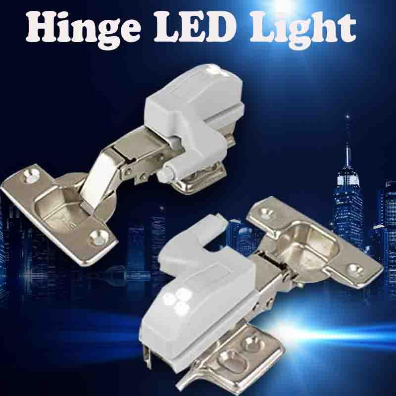 Hot Sale Hinge LED Cupboard Closet Furniture Hinge Light Cabinet Light For Kitchen Bedroom Living Room Wardrobe Hinge Light(China (Mainland))