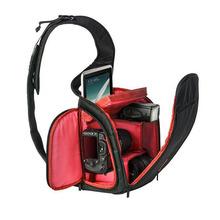 New High Quality Black Photography DSLR Camera Backpack Waterproof SLR Camera Sling Shoulder Bag Outdoor Digital Camera Bag.