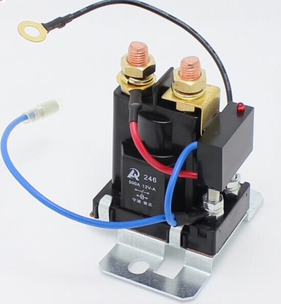 200 AMP Battery Isolator Dual Battery auto increase battery 12V heavy relay(China (Mainland))