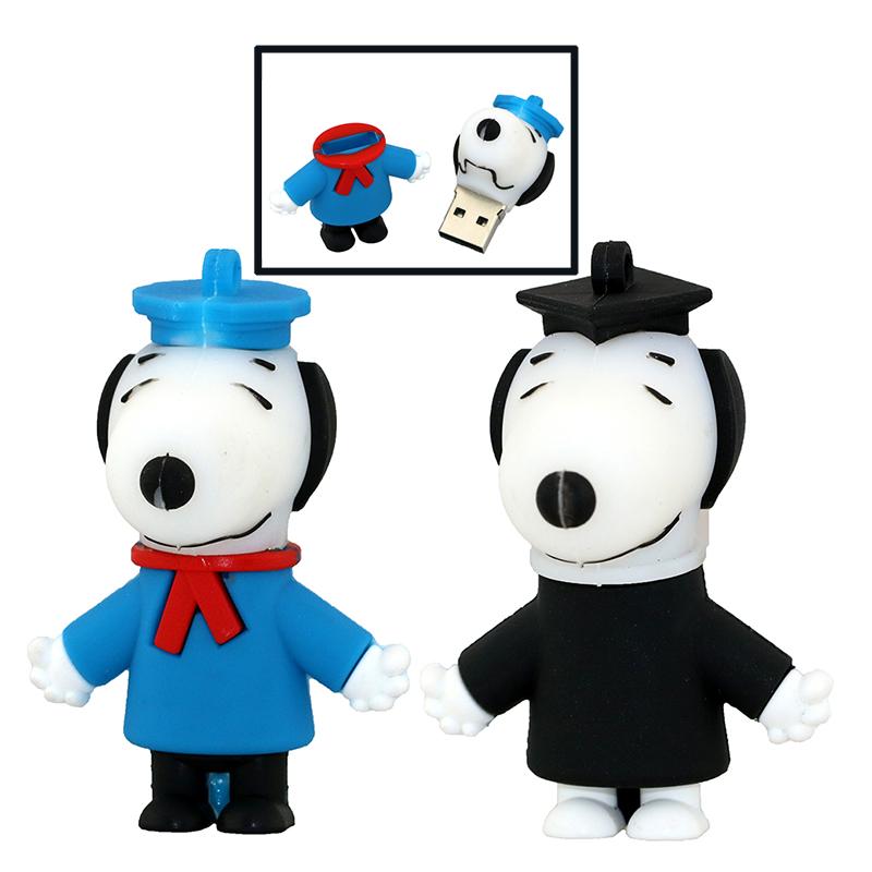 Pendrive Cartoon Baby Dog Memory Flash Drive 4GB 8GB 16GB 32GB 64GB Cartoon Doctor Pendrive USB Stick(China (Mainland))