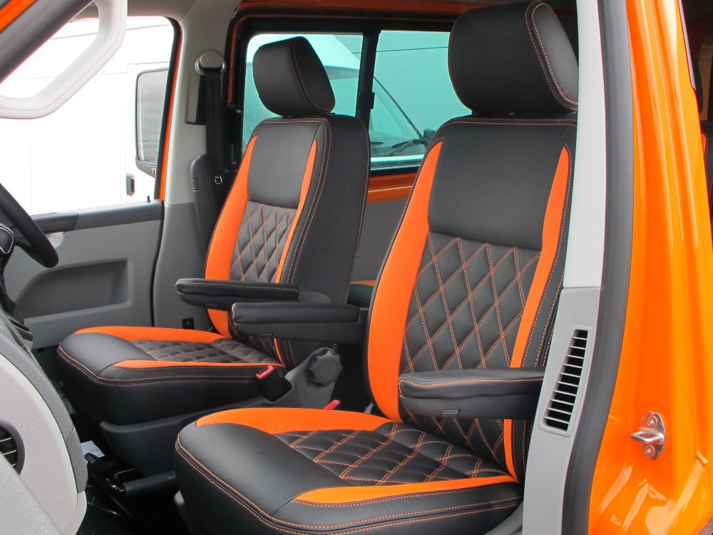 automobile genuine leather car cover vw transporter seat set t5 front 2 seat leather for auto. Black Bedroom Furniture Sets. Home Design Ideas