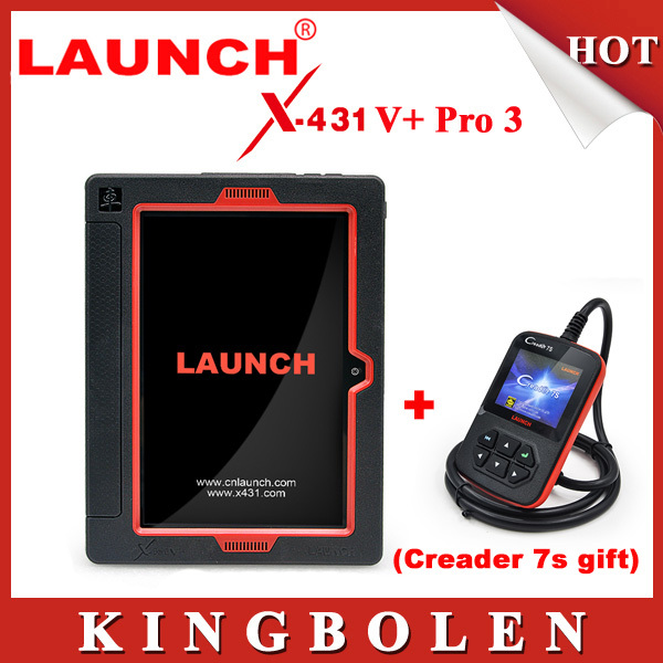 2015 New Released Original Launch X431 V+ Full System Free Update Equal To Launch X431 Pro3 Based On Android System +Creader 7S(China (Mainland))