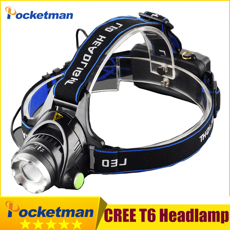LED Headlight CREE T6 led headlamp zoom 18650 Head lights head lamp 2000lm XML-T6 zoomable lampe frontale LED flashlight zk93(China (Mainland))