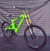 Dh mountain bike soft tail dh bike bicycle sank mountain slope fr AM mountain bike downhill bike xc(China (Mainland))