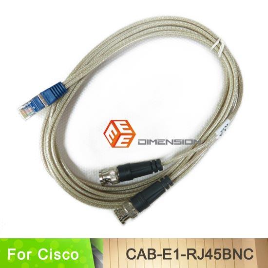 10FT Transparent network cable BNC to RJ45 cable E1 cable CAB-E1-RJ45BNC for cisco AS5350/AS5400 Series(China (Mainland))