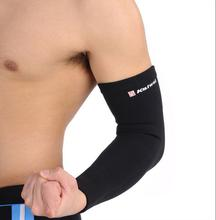 1 Piece of Armband Full Arm Warmer Elbow Protector Basketball Badminton Fitness(China (Mainland))
