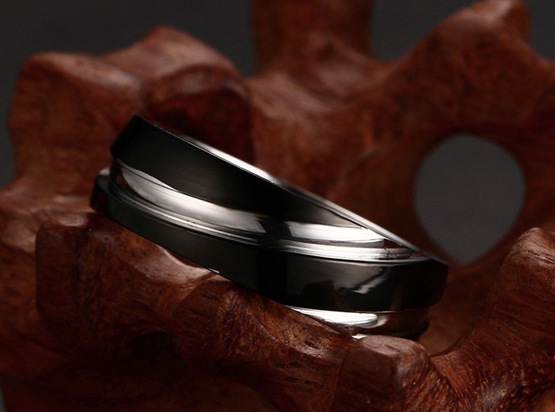 New arrival wedding rings for men and women jewelry  high polished 316L stainless steel  for birthday gift love for you lover