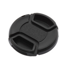52mm center-pinch Front Lens Cap/Cover for all 52mm lens Filter with cord Brand New Hot Selling(China (Mainland))