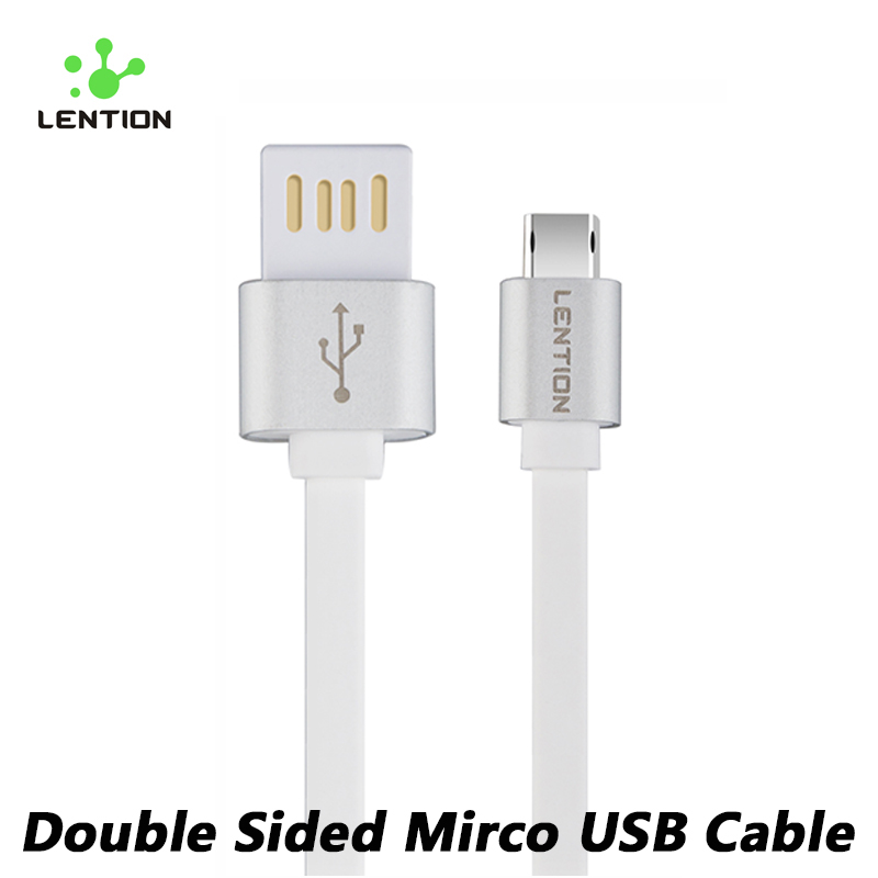 LENTION Fast Charging Data Sync Mobile Phone Cable Flex Certified Quick Charger Micro USB Cable For Samsung HTC Huawei LG Sony(China (Mainland))