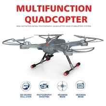 LIANSHENG 100% Original High-end RC Drone with Camera HD quadcopter can Add FPV Wifi Helicopter LS -128 50CM Large Size