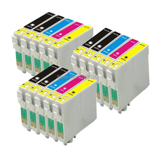 15 Ink Cartridges (3 Sets + Black) non-OEM to replace T1285 & T1281