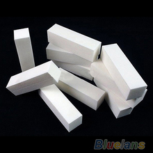2016 5Pcs White Nail Art Buffer File Block Pedicure Manicure Buffing Sanding Care DIY 76P1 7H7C 8LBG