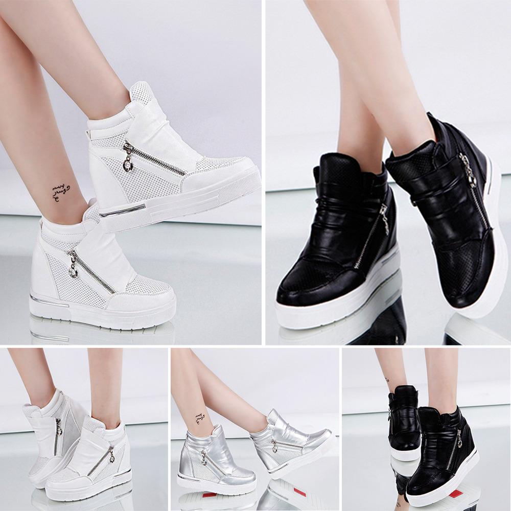 Women Casual Wedge Heel Shoes Winter