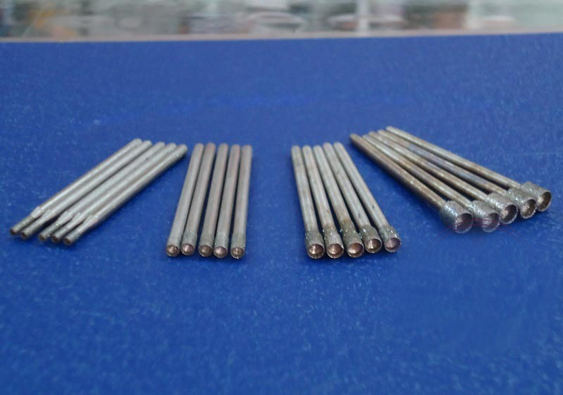 Eye needle aspiration 2.35M sleeve-shaped handle recess nail punch to make eye pressure eye needle T jade carving tools(China (Mainland))