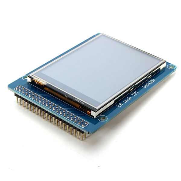 New Electric Unit 2.8 Inch 240 x 320 ILI9325 TFT LCD Touch Screen Display Module SCM For Arduino 2.8V To 3.3V With Buck I C(China (Mainland))