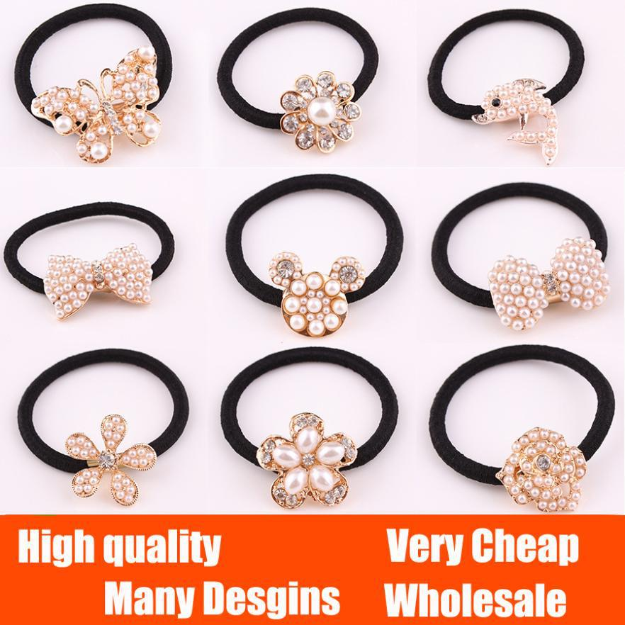 Fashion Korean Rhinestone Peacock Butterfly Peacock Flower Bow pearl band hair Accessories Headdress Free shipping 2014 PT37(China (Mainland))
