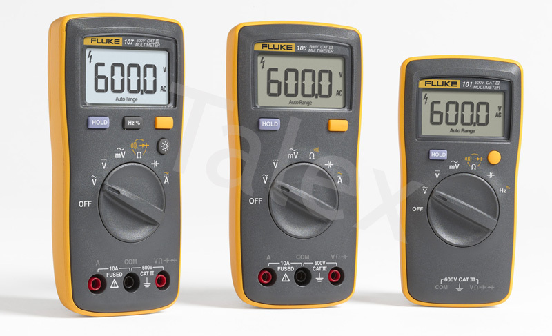 Hot Sale Handheld Fluke Basic Multimeter Extremely Rugged DMM Fluke 106 Digital Multimeter(China (Mainland))
