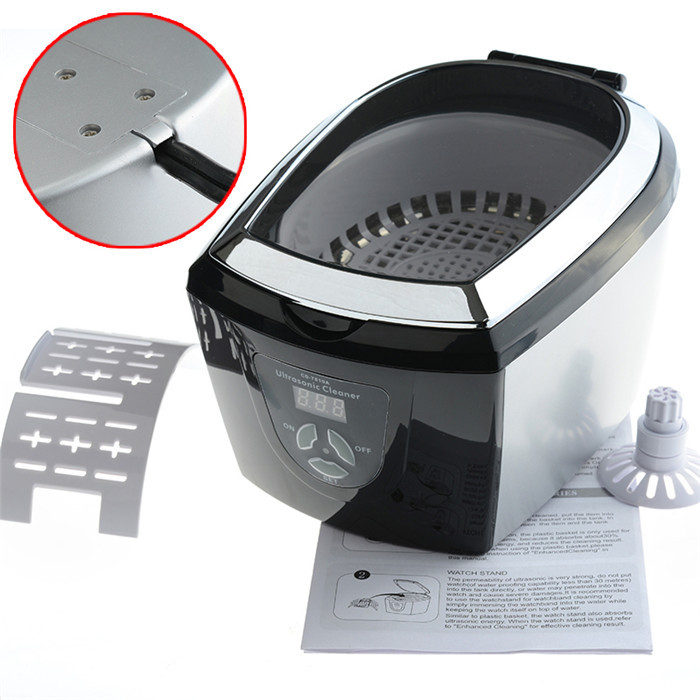 0.75L Mini Dental Medical Ultrasonic Cleaner Cleaning Appliances CD 7810A(China (Mainland))