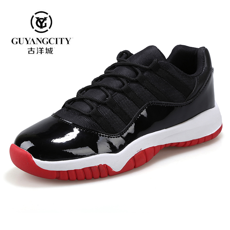 2016 summer fashion men shoes authentic cheap jordan 11 retro shoes slip resistant comfortable shoes zapatillas hombre trainers(China (Mainland))
