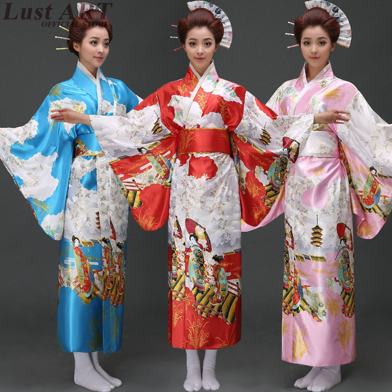 Wonderful Japanese Traditional Kimonos Women   Costumes Japan Kimonos Dress
