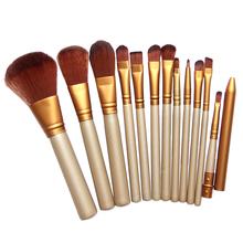Pro Makeup Cosmetic 12pcs Brushes Set Powder Foundation Eyeshadow Lip Brush #gib