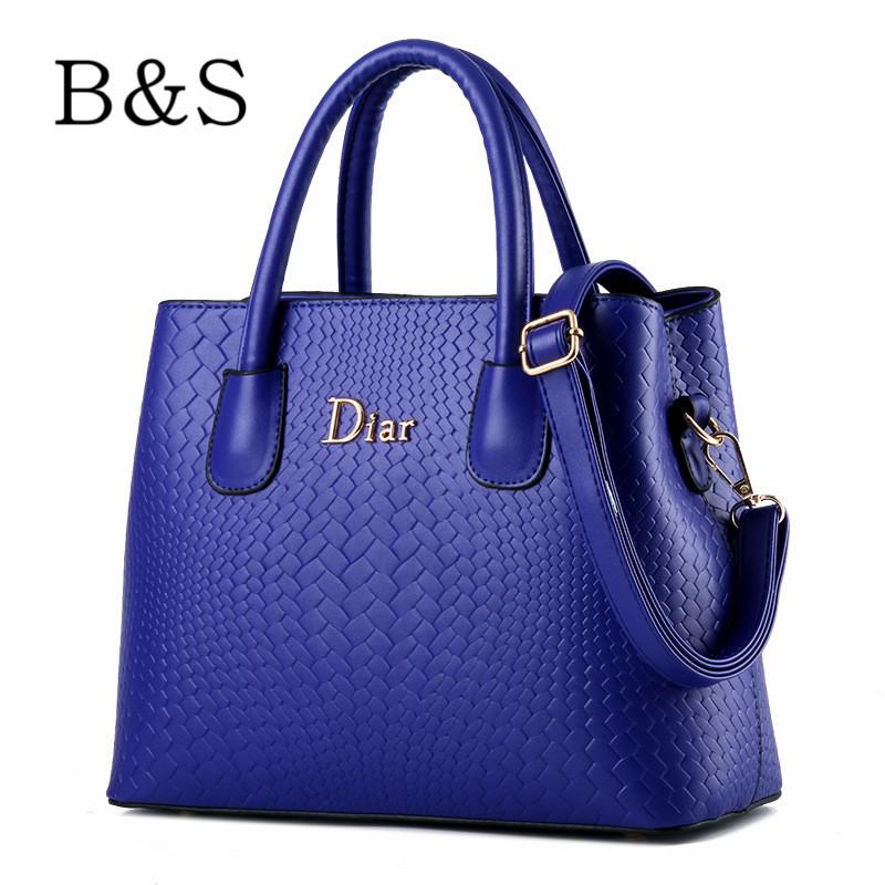 Luxury Handbags Women Bags Designer Brand Leather Female Messenger Shoulder Bags Bolsos Mujer Cross-Body Shopper Tote Bags 2016(China (Mainland))