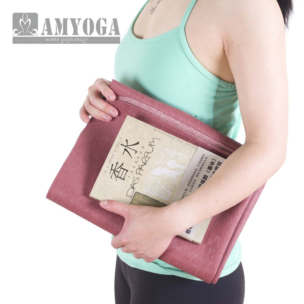 easy to fold anti-slding super thin travel yoga mat in rubber foam<br><br>Aliexpress