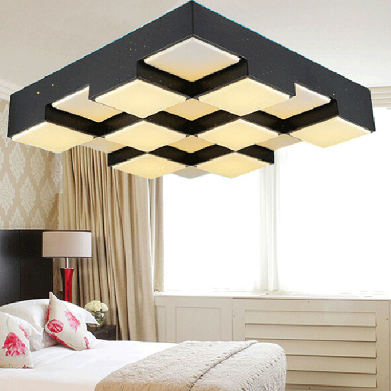 Фотография Modern led Acrylic ceiling lights  simplicity fashion personality  24-72W led ceiling lamp  for living room