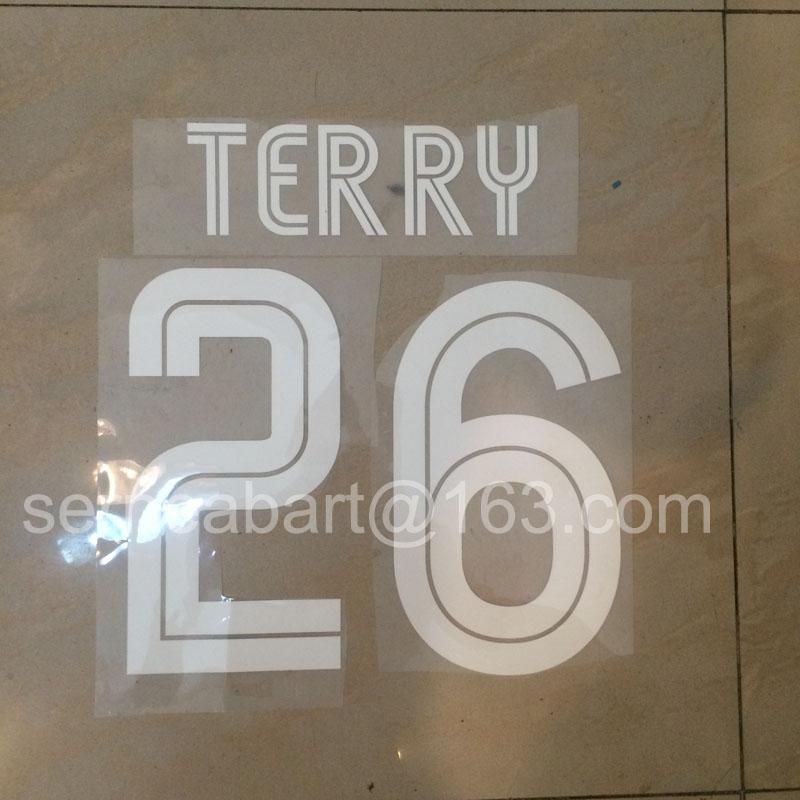 2004 -2006 TERRY #26 Nameset Name Numbering Heat Transfer Printing(China (Mainland))