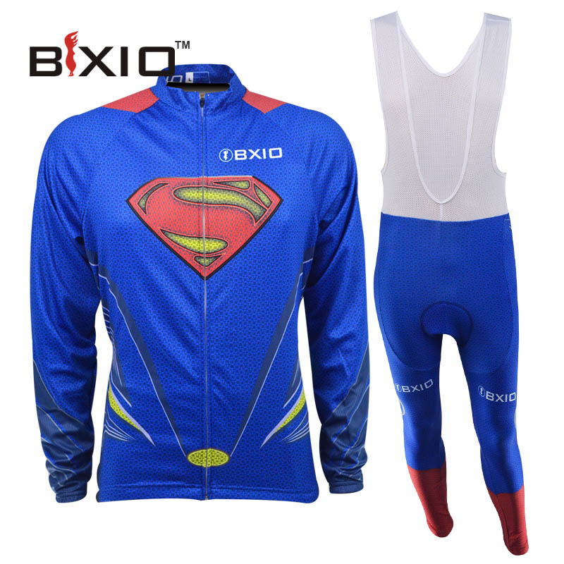 BXIO Long Sleeve Cycling Jersey Set Ciclismo Estivo Ropa Ciclista Spring Bike Clothes Cheap Bicycle Jersey Top Rate 060(China (Mainland))