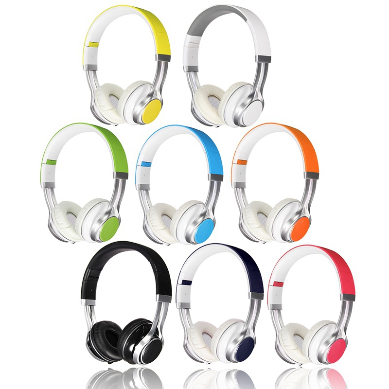 New Stylish Best Headphones Fold Stereo Surround 3.5mm Headband Headset Earbuds For Samsung For HTC Earphones With Microphone<br><br>Aliexpress
