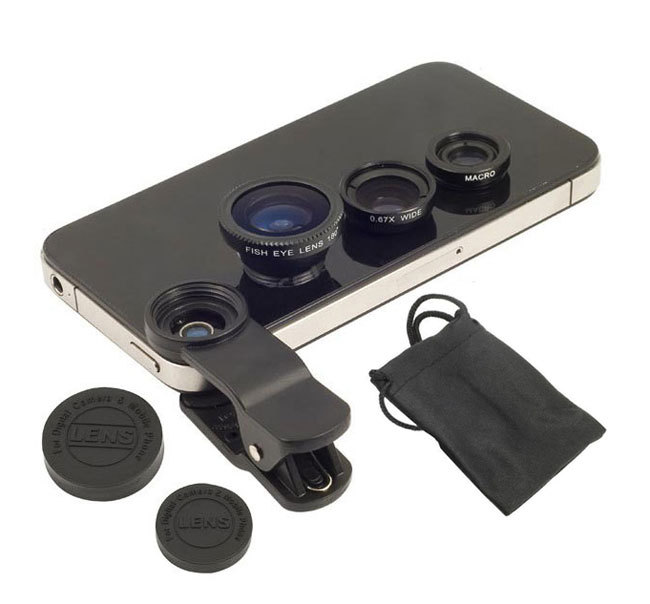 On sales Universal 3 In 1 Mobile Phone camera Lens Clip Fish Eye Macro Wide Angle for iphone6/5s for Samsung Galaxy S6 S5(China (Mainland))