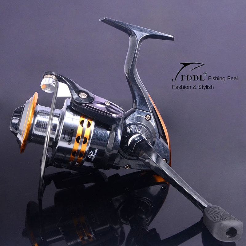 New 2015 9BB Ball Bearing Left/Right Fishing Reel Interchangeable Collapsible Handle Fishing Spinning Reel 2000-6000 5.2:1&5.5:1(China (Mainland))