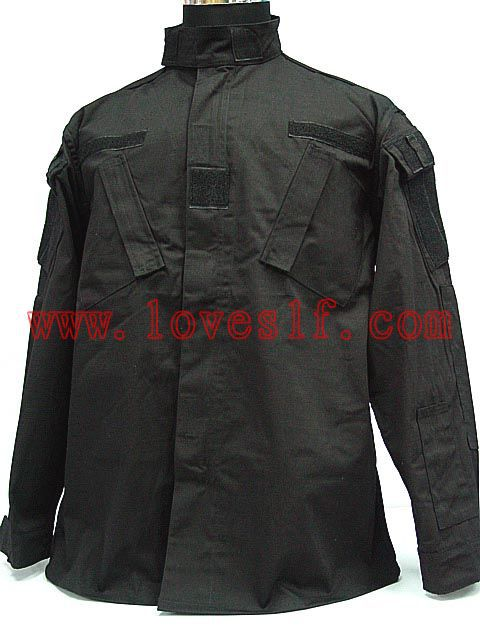 Black special warfare BDU Camouflage Army unifom uniform military - Beijing Loveslf Company Limited store