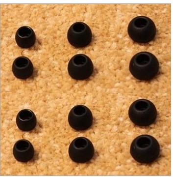 6 Pairs 12Pcs Silicone Earbud Cushion Replacement Headphone Headset Ea
