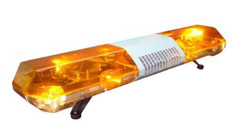 High quality DC12V/24V,100W 120W car/truck rotate warning lightbar.emergency light bar for police ambulance fire,waterproof