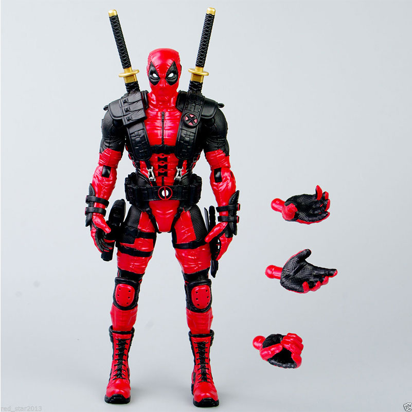 Cheap Hot Selling 100%  Brand New Deadpool Model Toy X-Men Wolverine 10 Inch Action Figure Red Color Free Shipping <br><br>Aliexpress
