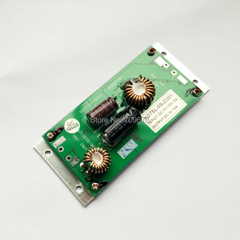 5V 15A 75W Bus LED Message Display Power Supply , DC 24V Input Voltage Support Bus Signs Voltage(China (Mainland))