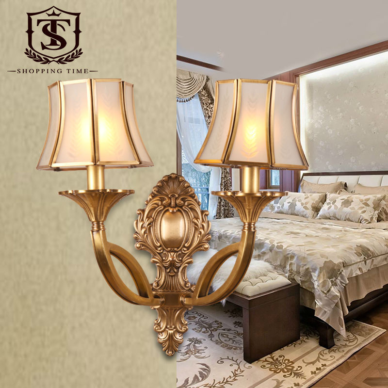 Brass Wall Lamps Bedroom : Popular Traditional Brass Wall Lights-Buy Cheap Traditional Brass Wall Lights lots from China ...