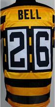 7 Ben Roethlisberger 12 Terry Bradshaw 36 Jerome Bettis 43 Troy Polamalu 50 Ryan Shazier 84 Antonio Brown Elite Jerseys(China (Mainland))