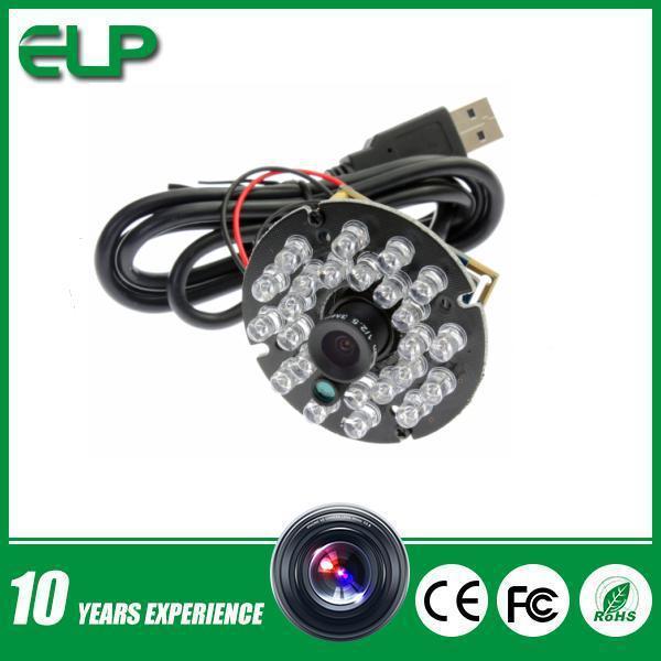 1MP 720p hd MJPEG or YUY2 mini CMOS free driver Night vision usb camera module laptop(China (Mainland))