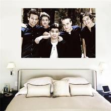 Best Stylish Classical Custom canvas print One Direction1 poster cloth wall Silk Fabric Print SQ00706-H05 - 007 CUSTOM store