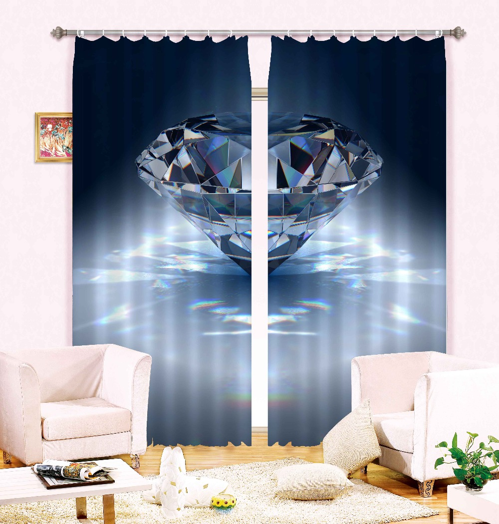 2016 china best selling 100% polyester high density luxury hotel curtains with 3d diamond design(China (Mainland))
