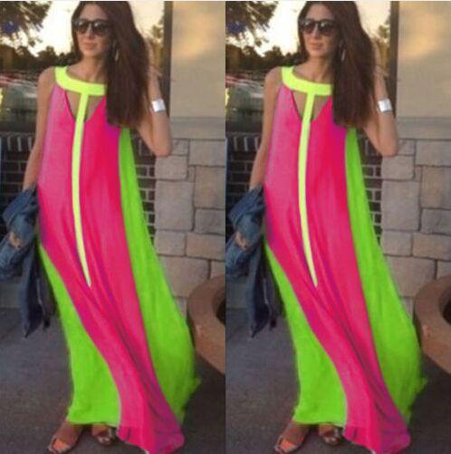Модные платья на лето длинные