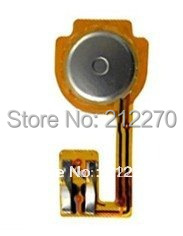 Home Button Flex Cable for iPhone 3GS 8GB 16GB 32GB 200pcs/lot Wholesale Free Hongkong Post Singapore Post(China (Mainland))