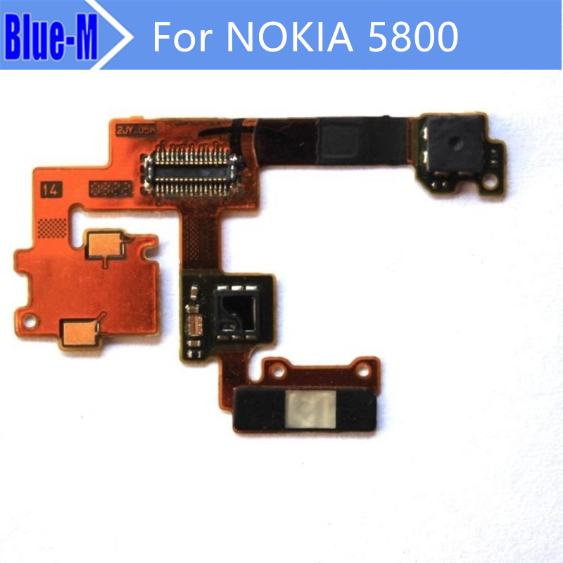 Original New eceiver Ribbon cable photosensitive Ribbon cable With front camera For Nokia 5800 Free Shipping(China (Mainland))